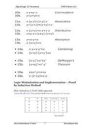 sem basic electronics notes unit digital logic