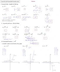 kuta worksheets exponential functions breadandhearth graphing worksheet kuta solving and logarithmi medium size