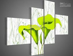 the modern fashion wall art home decorative abstract flower oil paintings framed 100 hand painted a beautiful artwork  on lime green wall art pictures with 2018 hand painted hi q modern wall art home decorative abstract