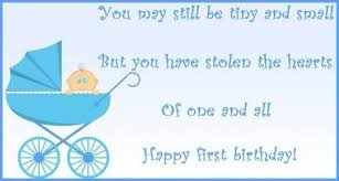 First Birthday Quotes Inspiration 48 First Birthday Wishes Poems And Messages Holidappy