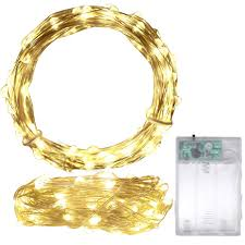 Fairy Lights Battery Operated Canada Colorful Led Copper Wire String Lights Christmas Garland