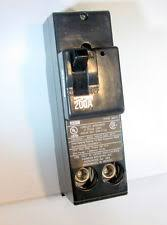 murray amp breaker mpd2200 new in box murray 2 pole 200 amp circuit breaker ups
