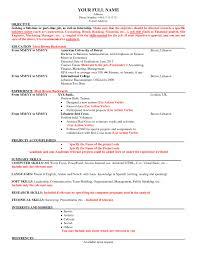 American Resume Model Best Of American Cv Sample Idealstalist