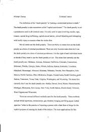 death penalty pg mike gianas s portfilo criminal justice essays acirc death penalty pg 1