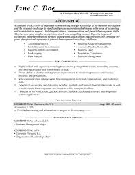 accounting and bookkeeping resume bookkeeper resume examples