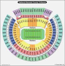 Oracle Arena Seating Chart Raiders Oakland Coliseum Parking Lot Map Maps Resume Designs
