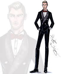 Hayden Williams Fashion Illustrations Gentleman By Hayden Williams