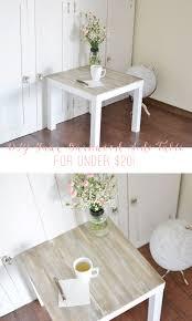 DIY Faux Barnwood Side Table  Lolly Jane