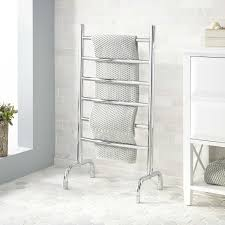 Free standing towel warmer Drummonds This Offers Great Flexibility For Placement And Use And Makes Installation Extremely Easy Freestanding Towel Warmers Are Electric And Plug Into Signature Hardware Towel Warmer Buying Guide