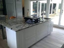 island countertop overhang granite counter