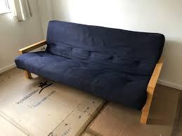 futon slipcover futon mattress sofa upholstery foot futon folding sofa bed