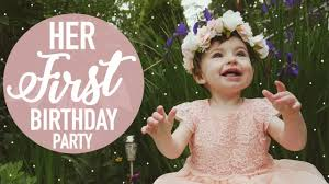 One special girl first birthday