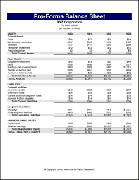 6 pro forma financial statement template template update234 com able excel pro forma financial statement template