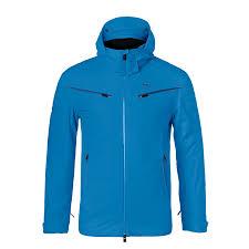 Ski Jacket Kjus Men Formula Aquamarine Blue