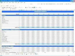 Expenses Spreadsheet Template For Small Business Business Income