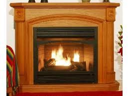 dual fuel fireplace wood gas kensington oak dual fuel ventless gas fireplace factory dir on fireplaces