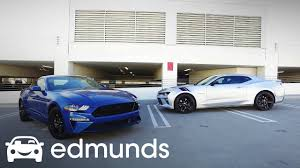 2018 Chevrolet Camaro SS vs. 2018 Ford Mustang GT | Comparison ...