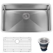Kitchen Sinks  CostcoSingle Drain Kitchen Sink Plumbing