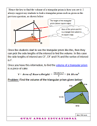 How To Find The Volume Of A Triangular Prism — Steemit