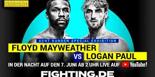 Floyd Mayweather vs Logan Paul – fighting.de