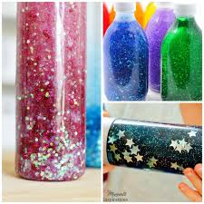 glitter jar tutorials that are perfect for the classroom or home these calming jars will