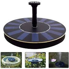 solar powered water fountain pump 2 5w
