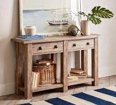 benchwright 54 console table pottery