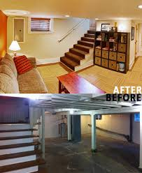 basement remodels before and after. Basement Remodels Before And After