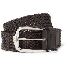 Types Of Designer Belts Brioni Woven Leather Belt Belt Leather Belts Designer