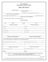 Free Bill Of Sale Template For Car Georgia Printable Form