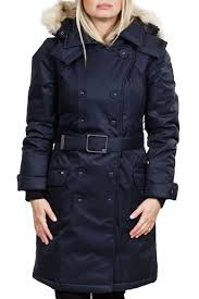 nobis tula downfill peacoat front cropped image