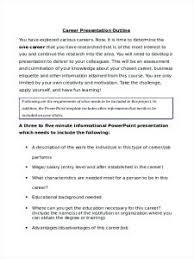Presentation Outline Template Templates Pdf Persuasive