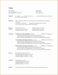 Libreoffice Resume Cover Letter Template Professional Resume Templates