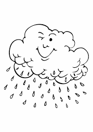 Small Picture Free Cloud Coloring Page Printable Cloud Coloring Pages For Kids