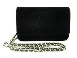 chanel zip wallet. image is loading auth-chanel-matelasse-a48654-black-velour-wallet chanel zip wallet