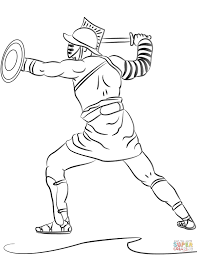 Cartoon Roman Soldier Coloring Page Pages 4 Futuramame