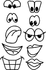Funny Face Templates Funny Eye Drawing At Getdrawings Com Free For Personal Use