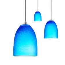 extra cobalt blue pendant light fixture for home designing blog lighting idea best inside necklace shade glass mini sea