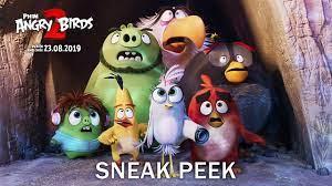 Phim Angry Birds - THE ANGRY BIRDS 2   Phim Angry Birds 2   Sneak peak  'NHÀ'   KC 23.08.2019