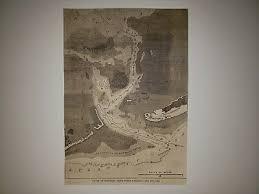 Hatteras Inlet North Carolina Map Chart Civil War 1862 Hw