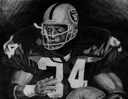 bo jackson drawing by jeremy moore