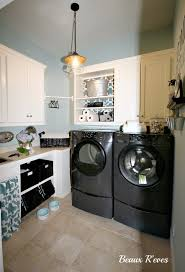 laundry room lighting. Outstanding Laundry Room Design With Lighting Fixtures : Impressive Decoration Modern Black Washing