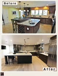 L Shaped Kitchen Remodel Long Beach Black Contemporary Modern L Shaped Kitchen And Bathroom