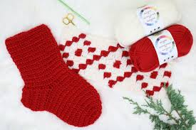 Crochet Stocking Pattern Unique Nordic Crochet Christmas Stocking Free Pattern From Make Do Crew