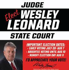 Judge Wesley Leonard would appreciate... - The LaGrange Daily News |  Facebook