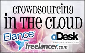 crowdsourcing job sites to lance writing work  crowdsourcing in the cloud