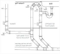 plumbing a kitchen sink fresh inspirational kitchen sink drain diagram light and lighting 2018