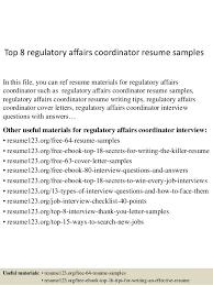 Regulatory Affairs Manager Resignation Letter Sample