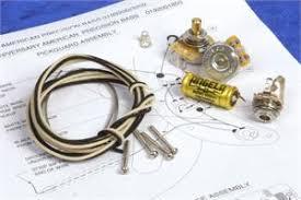 angela premium wiring kit for fender precision bass