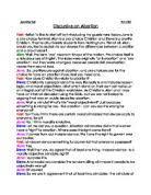 discursive essay on abortion gcse religious studies philosophy discursive essay on abortion